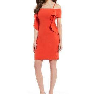 Elegant Orange Dress